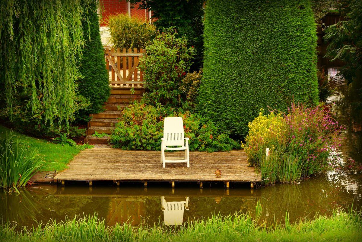 Patio Garden Design Idéer